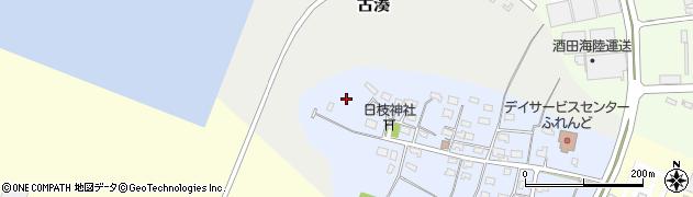 山形県酒田市古湊町13周辺の地図