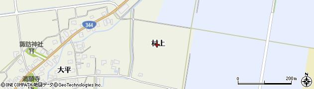 山形県酒田市安田(村上)周辺の地図