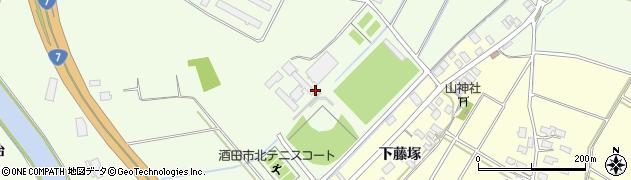 山形県酒田市宮海明治1周辺の地図