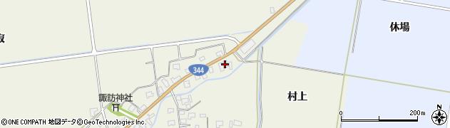 山形県酒田市安田大平245周辺の地図