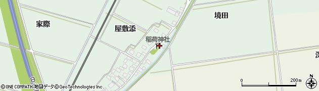 山形県酒田市保岡通端40周辺の地図
