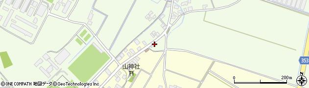 山形県酒田市藤塚下谷地周辺の地図