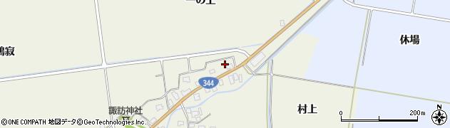 山形県酒田市安田大平224周辺の地図