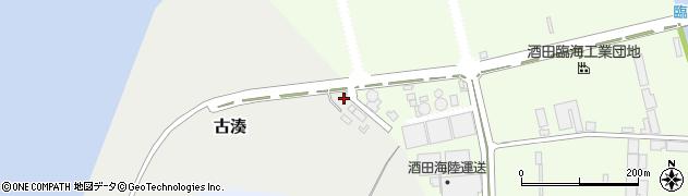 山形県酒田市古湊88周辺の地図