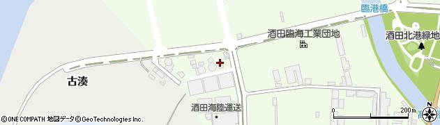 山形県酒田市宮海明治273周辺の地図