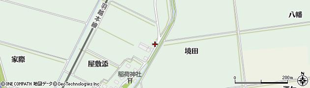 山形県酒田市保岡屋敷添41周辺の地図
