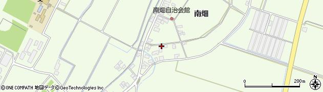 山形県酒田市藤塚南畑周辺の地図