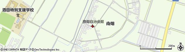山形県酒田市藤塚南畑140周辺の地図