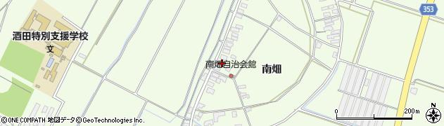 山形県酒田市藤塚南畑17周辺の地図