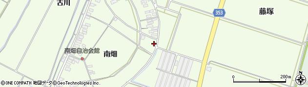山形県酒田市藤塚南畑30周辺の地図