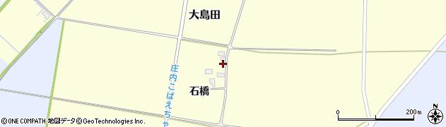 山形県酒田市大島田石橋周辺の地図