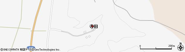 山形県酒田市寺田道ノ上95周辺の地図