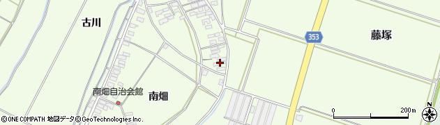 山形県酒田市藤塚元和里116周辺の地図