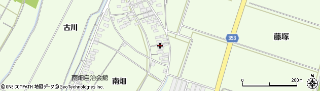 山形県酒田市藤塚元和里108周辺の地図