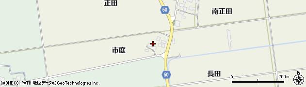 山形県酒田市庭田市庭39周辺の地図