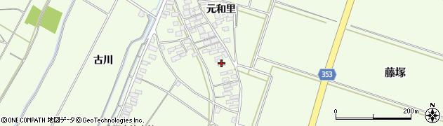山形県酒田市藤塚元和里99周辺の地図