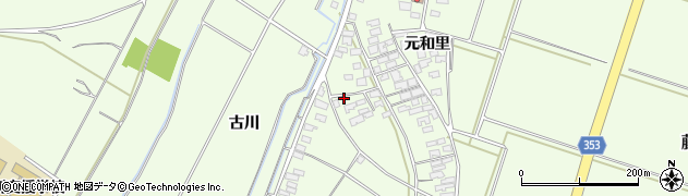 山形県酒田市藤塚元和里52周辺の地図