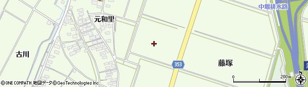 山形県酒田市藤塚家の前周辺の地図
