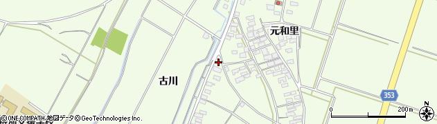 山形県酒田市藤塚南畑1周辺の地図