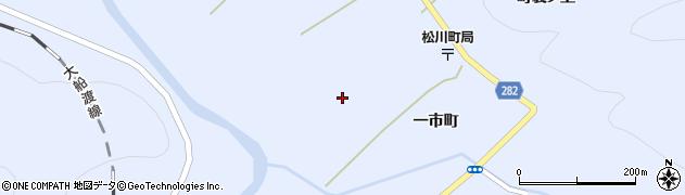 岩手県一関市東山町松川(町裏)周辺の地図