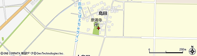 山形県酒田市大島田島田97周辺の地図