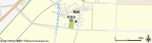 山形県酒田市大島田島田95周辺の地図