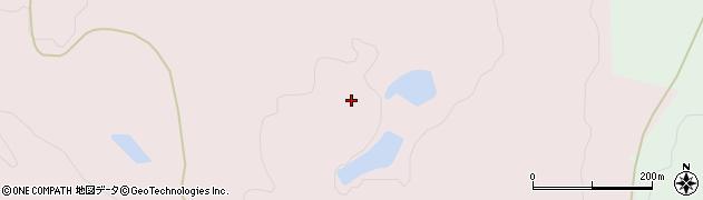 山形県酒田市下青沢蕨台周辺の地図