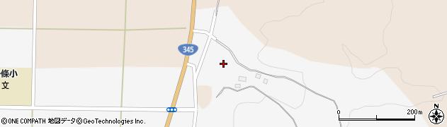 山形県酒田市寺田堂田周辺の地図