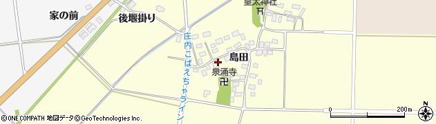 山形県酒田市大島田島田39周辺の地図