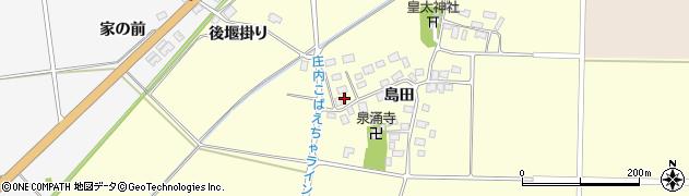 山形県酒田市大島田島田38周辺の地図