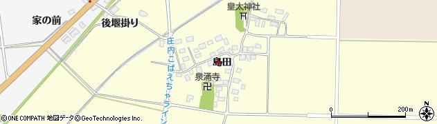 山形県酒田市大島田周辺の地図