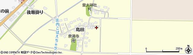 山形県酒田市大島田島田61周辺の地図