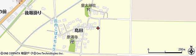 山形県酒田市大島田島田62周辺の地図
