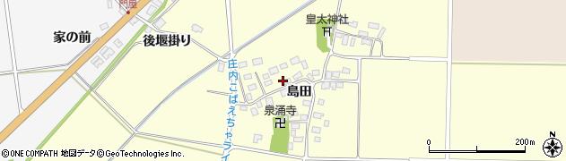 山形県酒田市大島田島田32周辺の地図