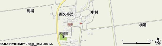 山形県酒田市庭田中村89周辺の地図