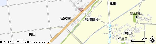 山形県酒田市刈穂家の前89周辺の地図