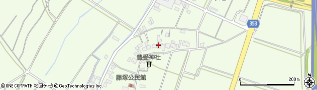 山形県酒田市藤塚元和里10周辺の地図
