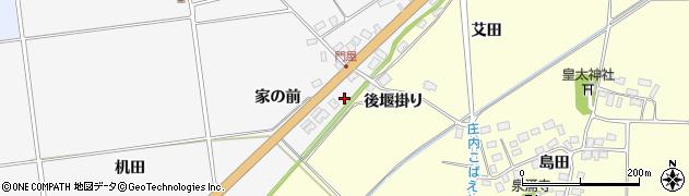 山形県酒田市刈穂家の前88周辺の地図