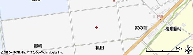山形県酒田市刈穂(机田)周辺の地図