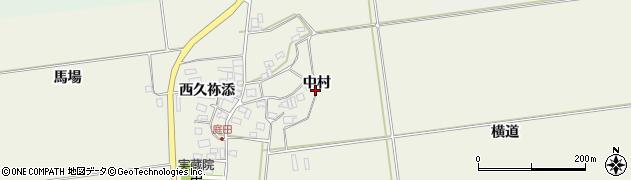 山形県酒田市庭田中村41周辺の地図