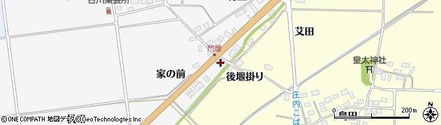 山形県酒田市刈穂家の前42周辺の地図
