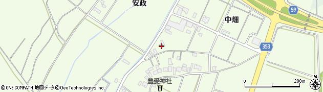 山形県酒田市藤塚中畑29周辺の地図