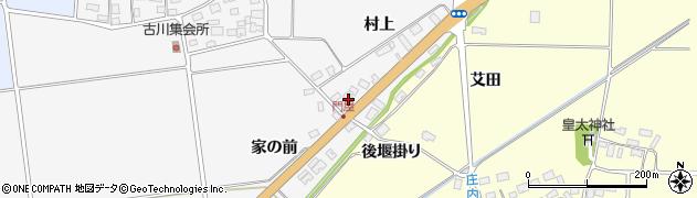 山形県酒田市刈穂村上85周辺の地図