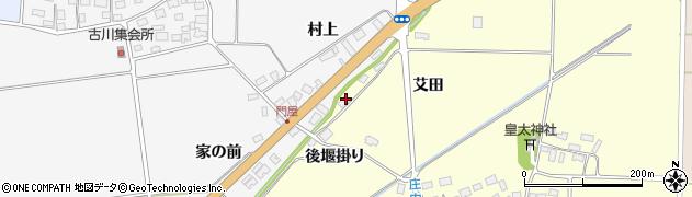 山形県酒田市大島田艾田78周辺の地図