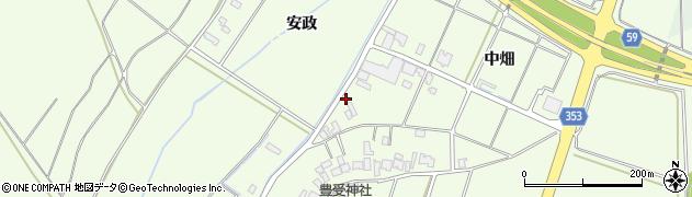 山形県酒田市藤塚中畑28周辺の地図