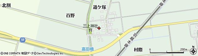 山形県酒田市保岡村際50周辺の地図