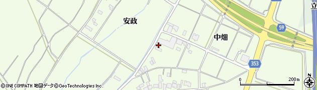 山形県酒田市藤塚中畑15周辺の地図