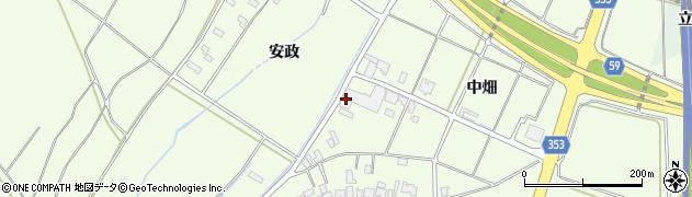 山形県酒田市藤塚中畑25周辺の地図