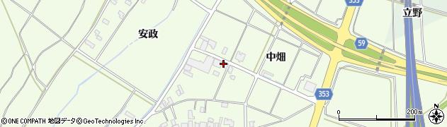 山形県酒田市藤塚中畑19周辺の地図