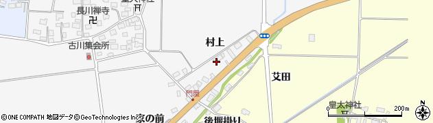 山形県酒田市刈穂村上79周辺の地図